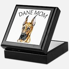 Brindle Dane Mom Keepsake Box