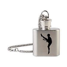 Football Kicker.eps Flask Necklace