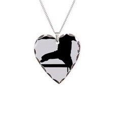 hurdler.eps Necklace Heart Charm