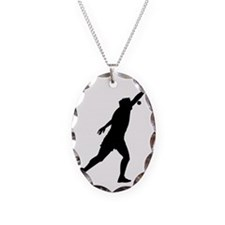 shotput.eps Necklace Oval Charm