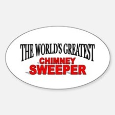 """""""The World's Greatest Chimney Sweeper"""" Decal"""