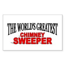 """The World's Greatest Chimney Sweeper"" Decal"