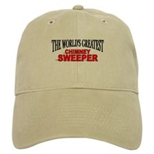 """The World's Greatest Chimney Sweeper"" Baseball Cap"
