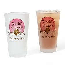 Sunrise_SisterInLaw Drinking Glass