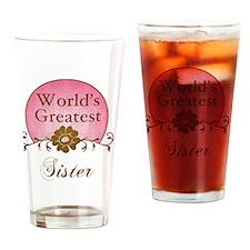 Sunrise_Sister Drinking Glass