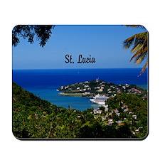 St Lucia 20x16 Mousepad
