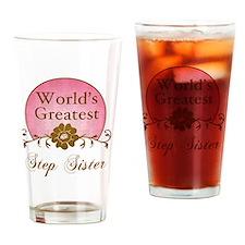 Sunrise_StepSister Drinking Glass