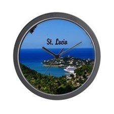 St Lucia 20x16 Wall Clock