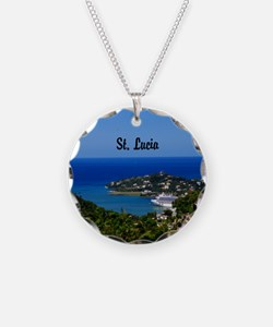 St Lucia 20x16 Necklace