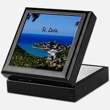 St Lucia 20x16 Keepsake Box