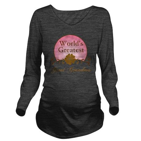 Sunrise_GreatGrandma Long Sleeve Maternity T-Shirt