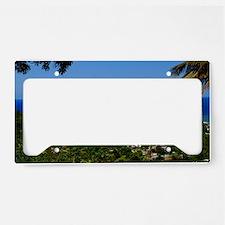 St Lucia 35x23 License Plate Holder