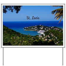 St Lucia 35x23 Yard Sign