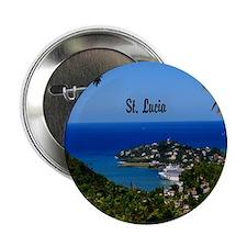 "St Lucia 11x11 2.25"" Button"