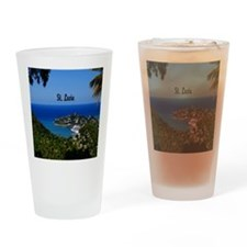 St Lucia 11x11 Drinking Glass