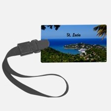 St Lucia 42x28 Luggage Tag