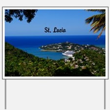 St Lucia 42x28 Yard Sign