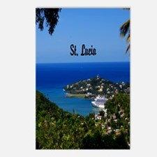 St Lucia 52x62 Postcards (Package of 8)