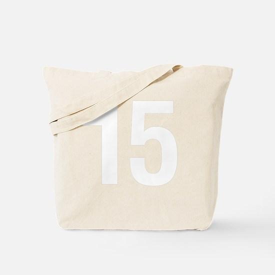 helvetica_15white Tote Bag