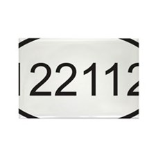 122112 Rectangle Magnet