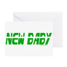 New Baby- March Greeting Cards (Pk of 10)