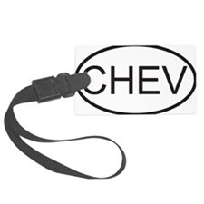 chev Luggage Tag