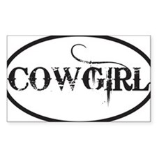 COWGIRL Decal