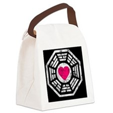 443 Dharma Heart Canvas Lunch Bag