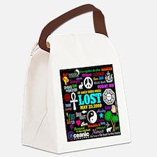 443 Lostmem Canvas Lunch Bag