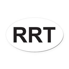 rrt Oval Car Magnet