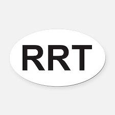 rrt Oval Car Magnet