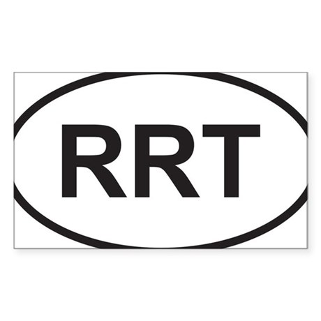 rrt Sticker (Rectangle)
