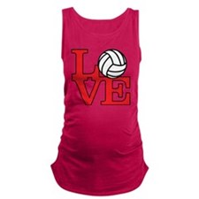 LoveVB-red Maternity Tank Top