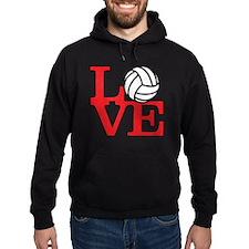 LoveVB-red Hoodie