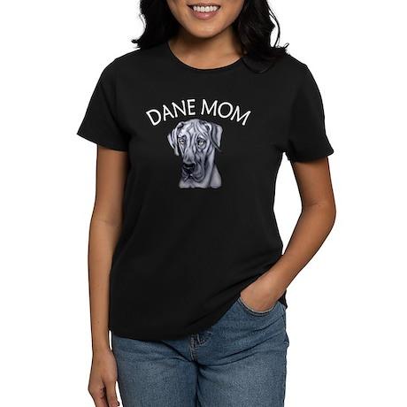 Blue UC Dane Mom Women's Dark T-Shirt