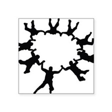 "skydive1a Square Sticker 3"" x 3"""