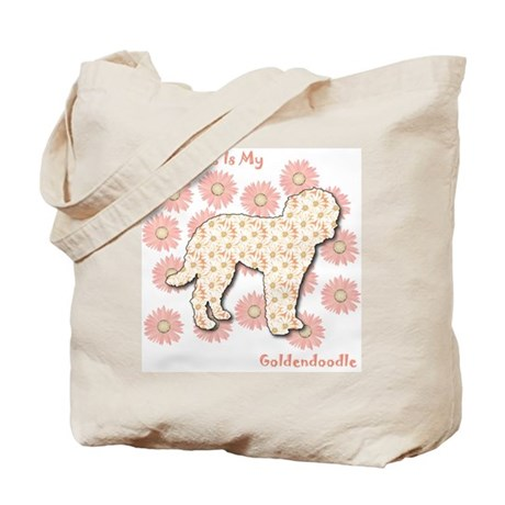 Goldendoodle Happiness Tote Bag