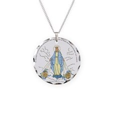 Mary Miraculous Medal Necklace