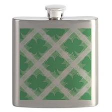 Shamrocks Flask