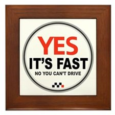 Yes Its Fast copy2 - Copy Framed Tile