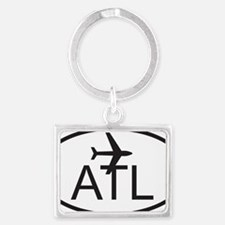 atlanta airport Landscape Keychain