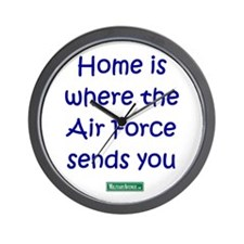 Home is where the Air Force S Wall Clock