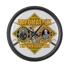 Appomattox (battle)1 Large Wall Clock