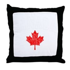 Canada Hockey -dk Throw Pillow