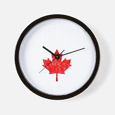 Canada Hockey -dk Wall Clock