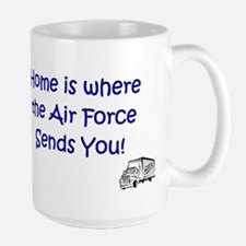 Home is where... Air Force Mug