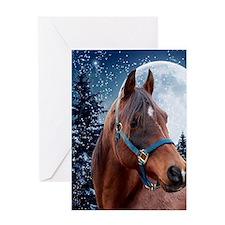 Winter B iPad Greeting Card