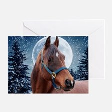 Winter B Moupad Greeting Card