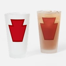 28th Infantry Division Drinking Glass