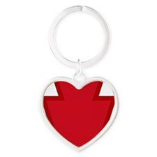 28th Infantry Division Heart Keychain
